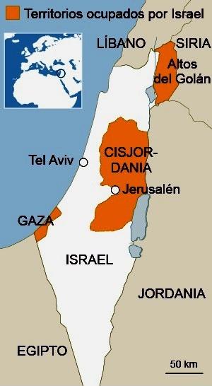 NO a la anexión de Cisjordania