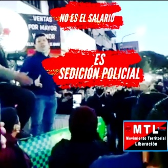 Alerta y movilización para desbaratar la sedición policial