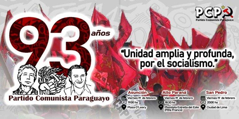 El PCP cumple 93 años. felicidades camaradas