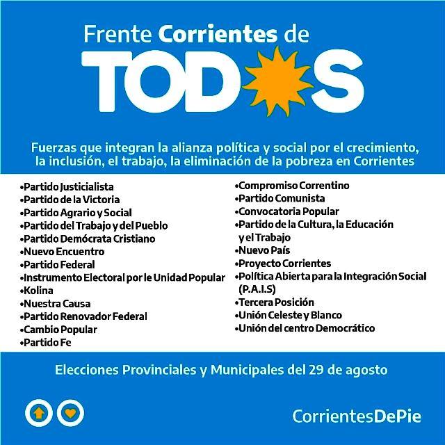 Hay que ganar la Provincia y la Ciudad de Corrientes